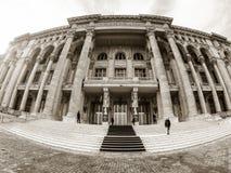 布加勒斯特宫殿议会罗马尼亚 库存图片