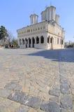 布加勒斯特教会城市居民 库存图片