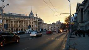布加勒斯特的中心 库存图片