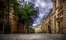 布加勒斯特的老镇 免版税库存图片