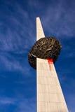 布加勒斯特纪念碑再生 免版税库存图片