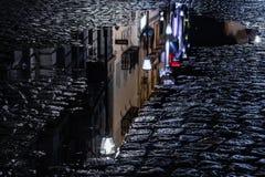 布加勒斯特老市 库存照片