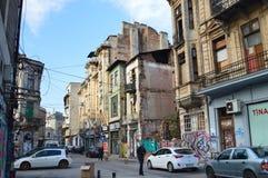 布加勒斯特老镇  免版税库存图片