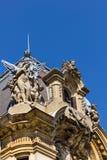 布加勒斯特老建筑学 免版税库存照片