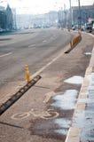 布加勒斯特自行车车道 图库摄影