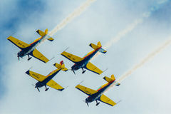布加勒斯特航空展示2013年 免版税库存照片