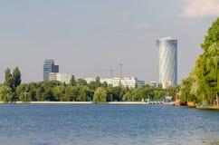 布加勒斯特视图 免版税库存照片