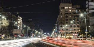 布加勒斯特都市风景 免版税库存照片