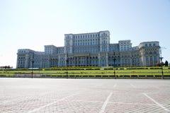 布加勒斯特-议会宫殿 免版税图库摄影