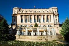 布加勒斯特-陆军宫殿 免版税库存照片