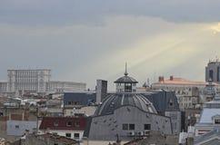 布加勒斯特-鸟瞰图 免版税图库摄影