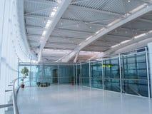布加勒斯特Otopeni国际机场 免版税库存照片