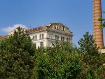 布勒伊拉,罗马尼亚, Violattos面粉加工厂在布勒伊拉 免版税库存图片