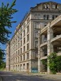 布勒伊拉,罗马尼亚, Violattos面粉加工厂在布勒伊拉 免版税库存照片