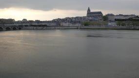 布卢瓦全景  免版税库存照片