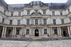 布卢瓦城堡。 免版税库存图片