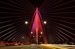 布城桥梁 免版税库存照片