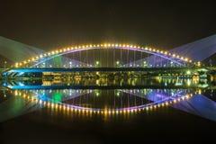 布城风景桥梁 库存照片