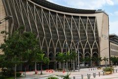 布城,马来西亚现代建筑学  库存照片