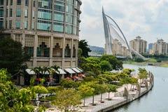 布城,马来西亚的管理中心 免版税库存照片