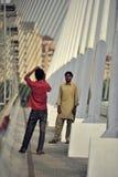 Seri Wawasan桥梁,布城,马来西亚 免版税图库摄影
