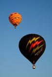 布城,马来西亚-热空气气球3月14,在飞行中在第7个布城国际热空气气球节日2015年3月14日 库存图片