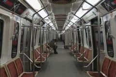 布宜诺斯艾利斯地铁(里面) 免版税图库摄影
