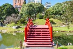 布宜诺斯艾利斯日本人庭院 免版税库存照片