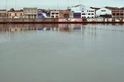布宜诺斯艾利斯港口城市 库存照片