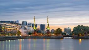布宜诺斯艾利斯都市风景 免版税图库摄影