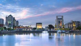 布宜诺斯艾利斯都市风景 免版税库存图片