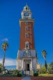 布宜诺斯艾利斯,阿根廷- 2016年5月02日:巨大的torre在1916年builded,并且它是75 在1980年,命名第一个文化遗产站点、遗产站点和国家历史文物,在科隆 免版税库存图片