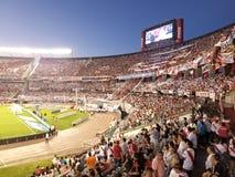 布宜诺斯艾利斯, 2017年11月26日:巨大的体育场 河床队socc 库存照片