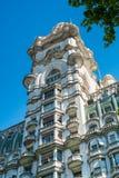 Barolo宫殿在布宜诺斯艾利斯 免版税库存图片