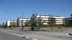 布尔戈斯,西班牙大厦和街道  免版税库存图片