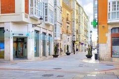 布尔戈斯 都市风景 免版税库存图片