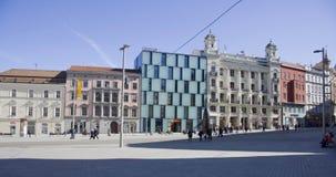 布尔诺中心城市 免版税库存图片