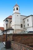 布尔诺城堡spilberk 免版税库存照片
