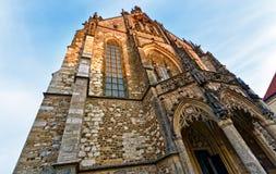 布尔诺大教堂保罗・彼得st 免版税库存照片