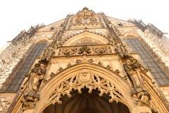 布尔诺大教堂捷克保罗・彼得共和国st 免版税库存图片