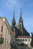 布尔诺大教堂 免版税库存照片