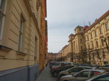 布尔诺市中心 免版税库存照片