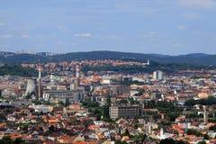 布尔诺市欧洲 免版税库存图片