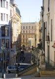 布尔诺街道 免版税库存照片