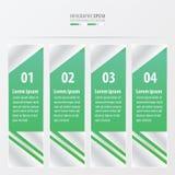 布局模板绿色 免版税图库摄影