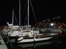布德瓦小游艇船坞 免版税库存照片