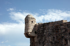 布德瓦市墙壁,黑山 免版税图库摄影