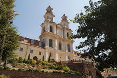 布恰奇中世纪Basilian修道院 免版税库存照片