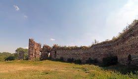 布恰奇城堡废墟  库存照片