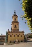 布恰奇townhall (捷尔诺波尔地区) 免版税库存图片